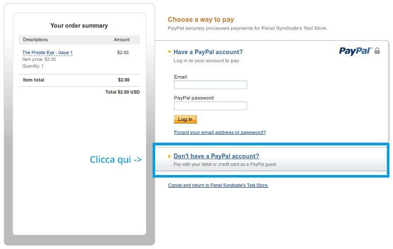 paypal-senza-carta